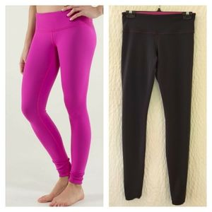 Lululemon Wunder Under Pant Reversible 30.5""